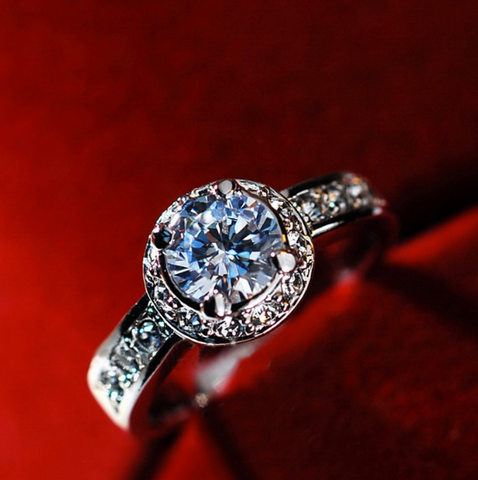 Royal Zircon December Birthstone Ring