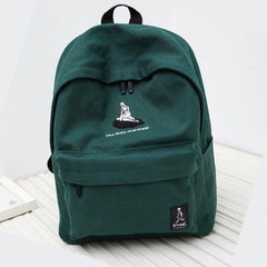 """The Little Mermaid"" Embroidered Backpack"