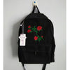 "Image of ""Rosey Dreams"" Embroidered Vintage Backpack"