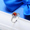 Image of Ruby July Birthstone Ring
