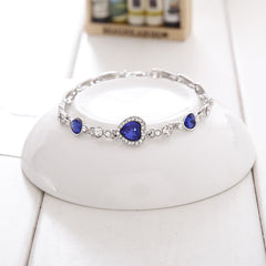 Tanzanite December Birthstone Bracelet
