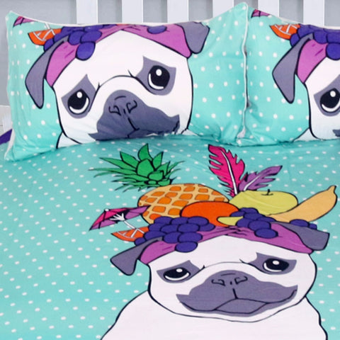 Cute Bulldog Bedding Set