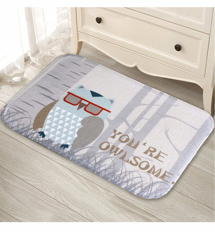 You're Owlsome Floormat