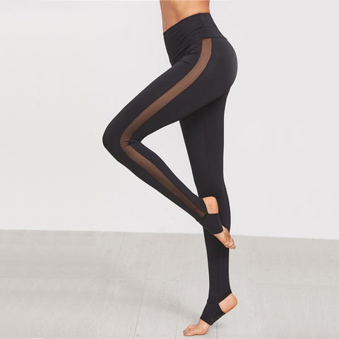 High Waisted Elegant thin Cutout Leggings