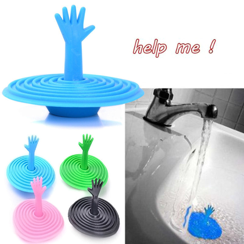 Hand Shape Sink Plug