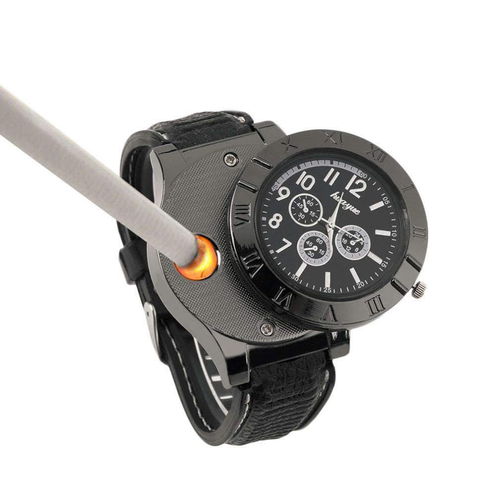 Electronic Cigarette Lighter Novelty Wrist Watch