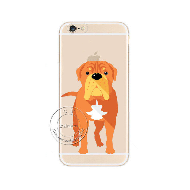 Cute Dogs Case Cover For Apple iPhones