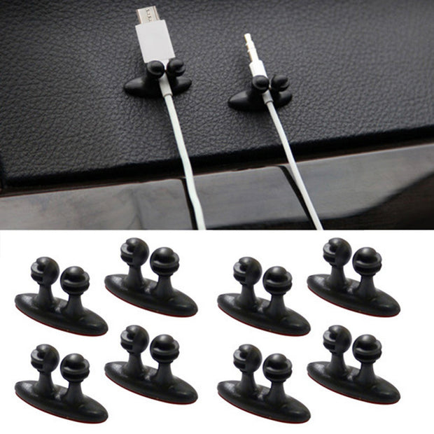 Multi-functional Car Wire Cable Holder - 8 pcs