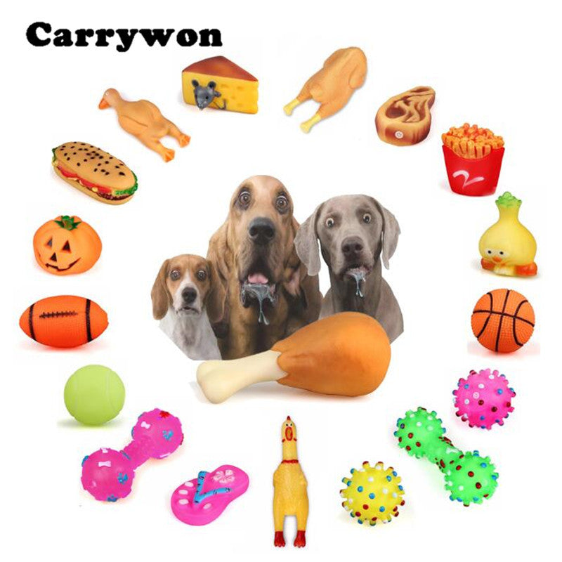 Pet Chew Dogs Toys with Sound
