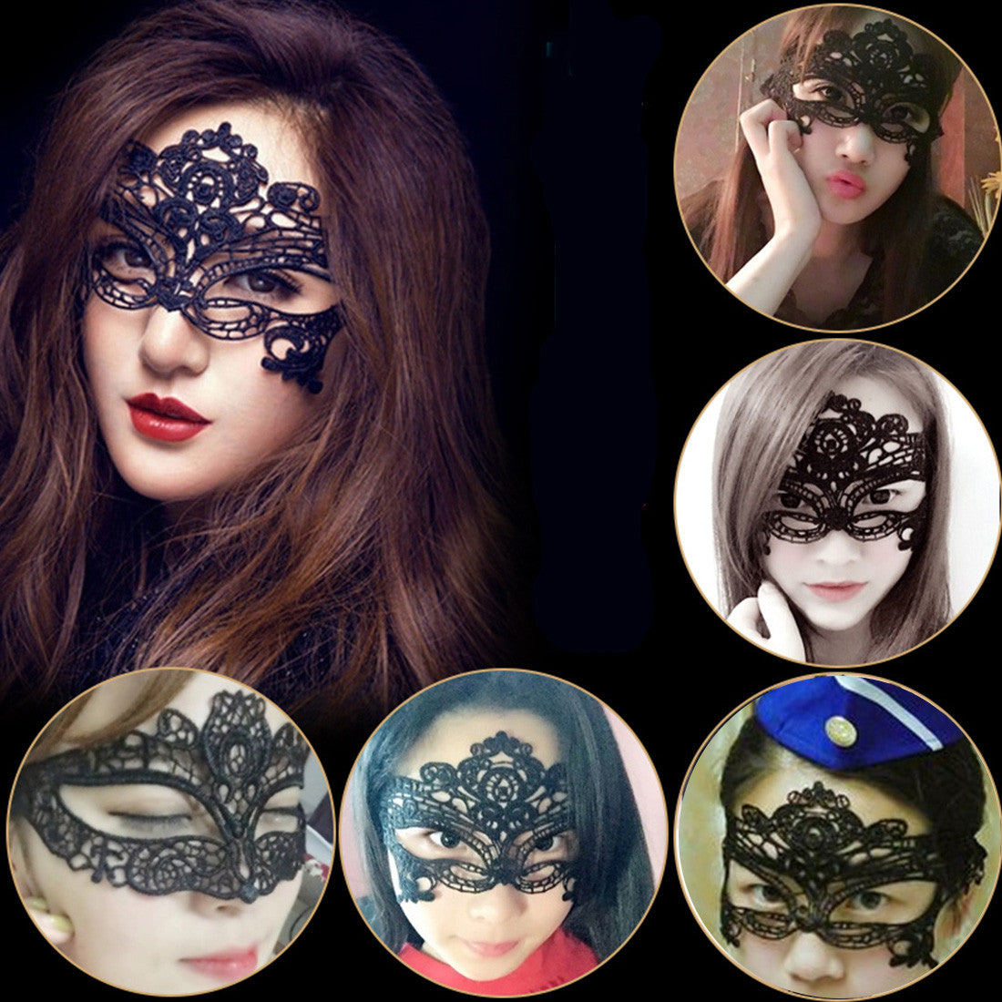 Sexy Lady Lace Mask