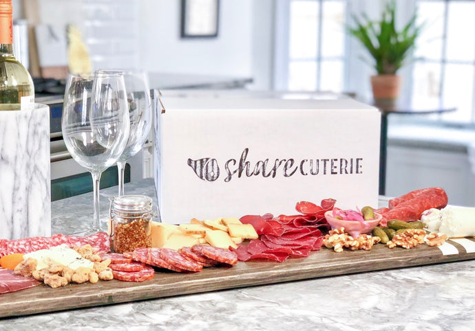 Charcuterie and Cheese Pairing Gift