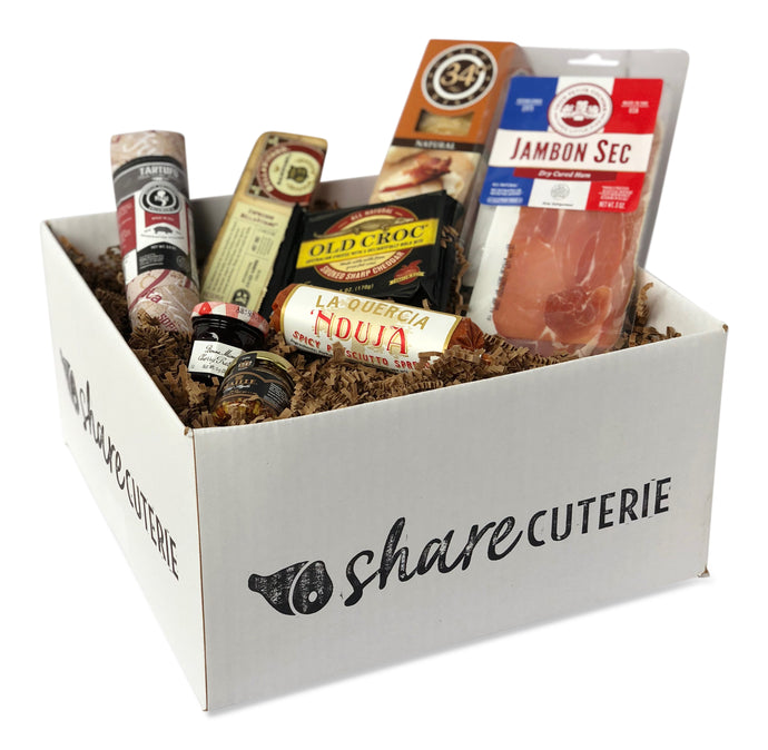 Charcuterie and Cheese Pairing Kit - Single Box
