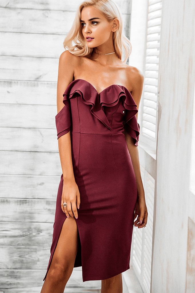 Gomez Split Dress