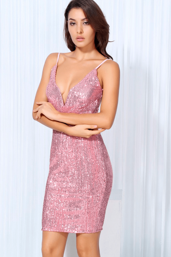 Sienna Sequin Dress