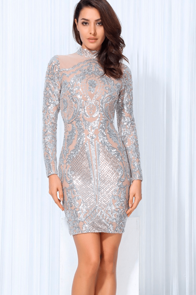 Starry Eyed Sequin Dress