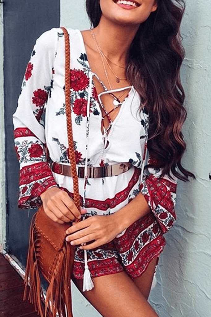 Boho Playsuit