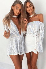 Isabella Sequined Playsuit