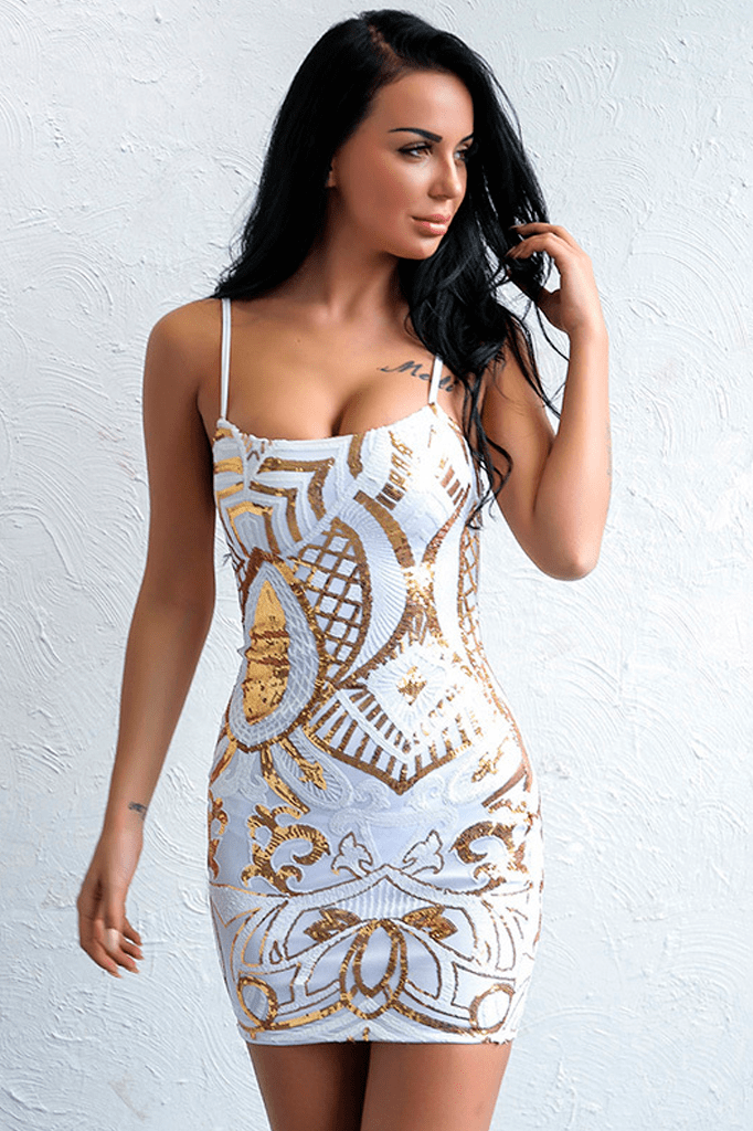 Luxe Mini Dress