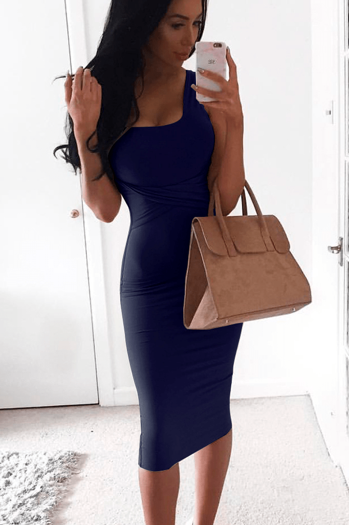 Midi Wrapped Dress