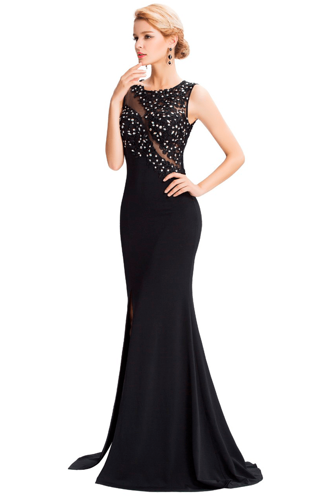 Shimmy Evening Dress