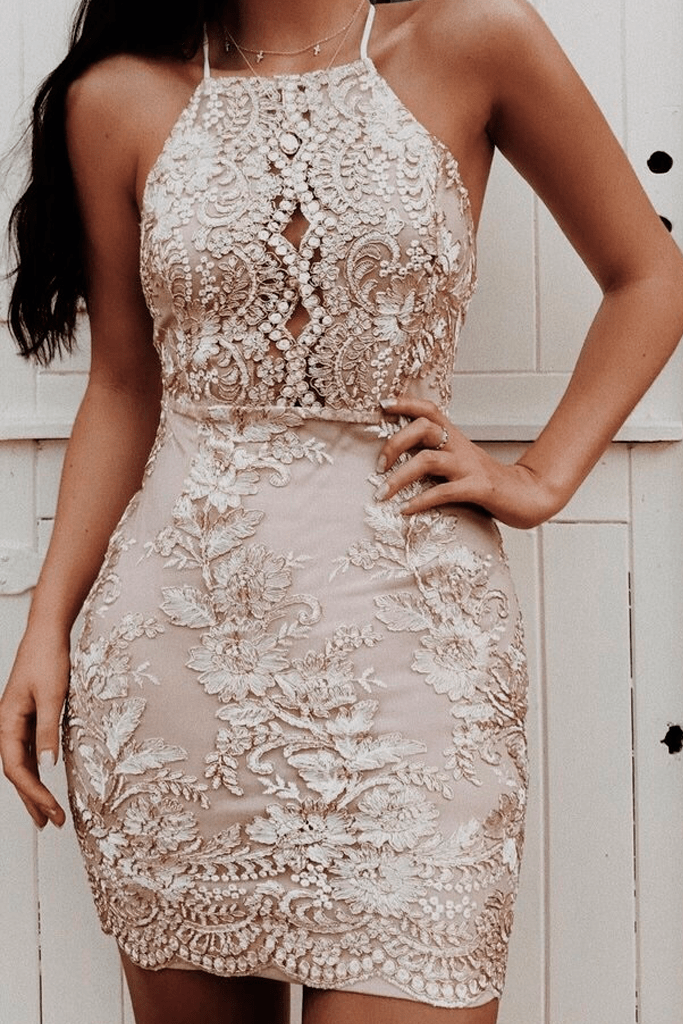 Crystal Rose Dress
