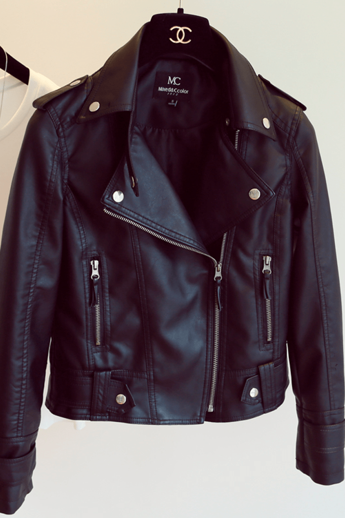 Soho Faux Leather Jacket