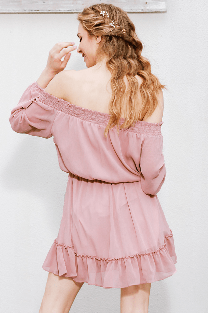 Sia Off Shoulder Dress