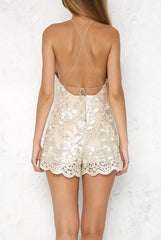 Crystal Rose Playsuit