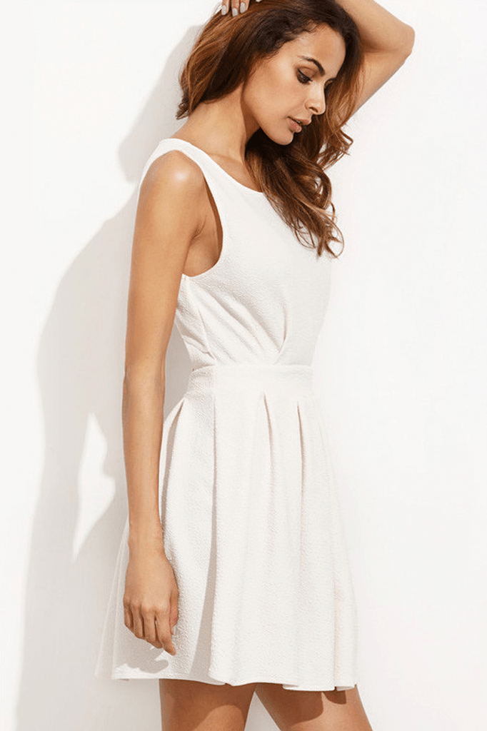 Sofie Back Cut Out Dress