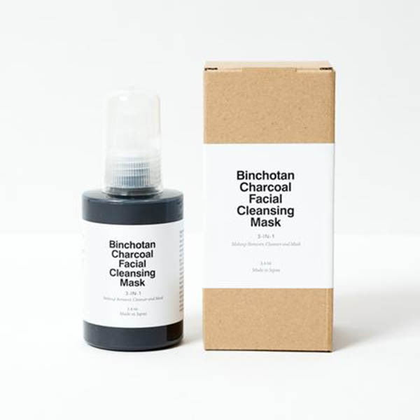 Binchotan Charcoal Facial Cleansing Mask from Quietly & Co