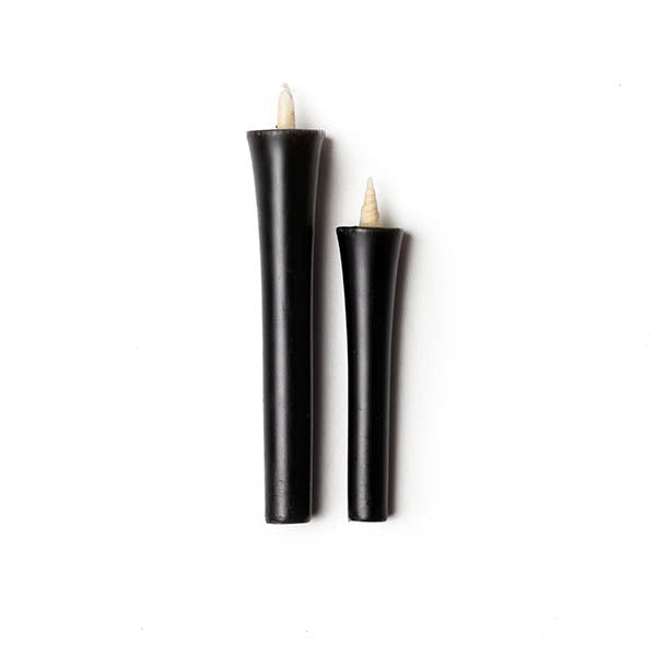 Black Japanese Candles - 2 Set