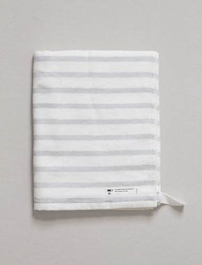 Japanese Bath Towel - Grey Stripe