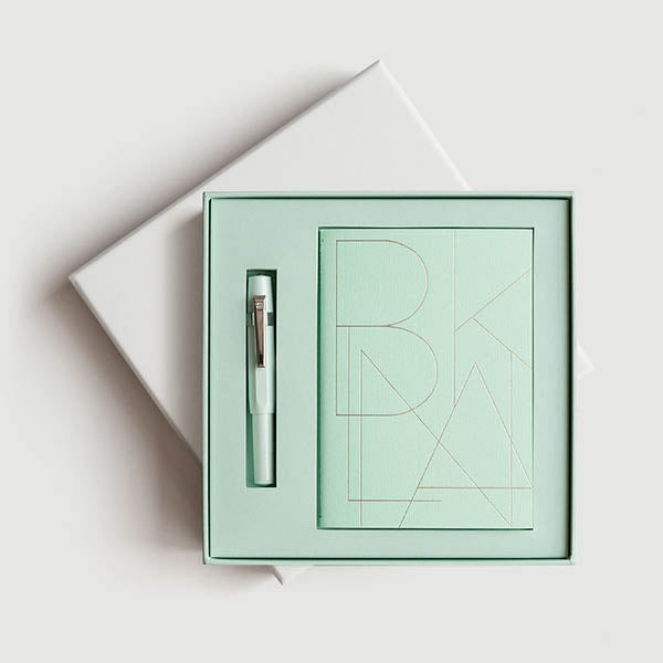 Fountain Pen and Notepad Giftpack