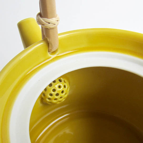 DO Claska Tea Pot Yellow