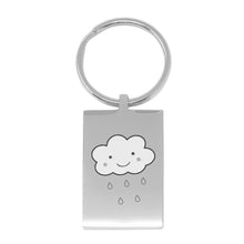 Baby Shower Engraved Keyring