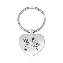 Sorry You're Leaving Engraved Heart Keyring