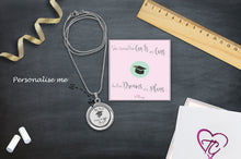 Congratulations On Your Graduation Floating Charm Locket Made With 3 Crystals From Swarovski