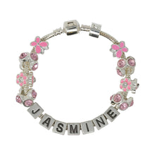 Be Your Own Kind Of Beautiful Childrens Personalised Name Charm Bracelet