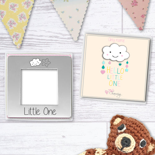 Hello Little One Engraved Magnetic Photo Frame