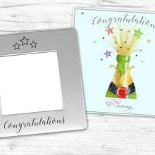 Congratulations Engraved Magnetic Photo Frame