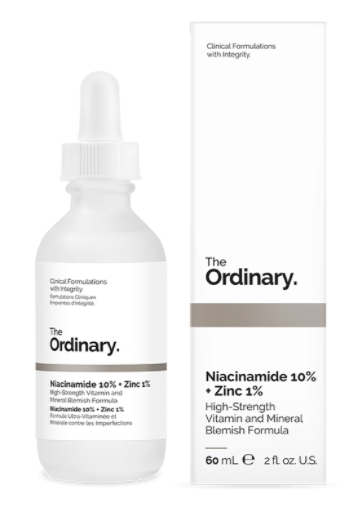 [The Ordinary - Deciem] Niacinamide 10% + Zinc 1%  - 60 ml