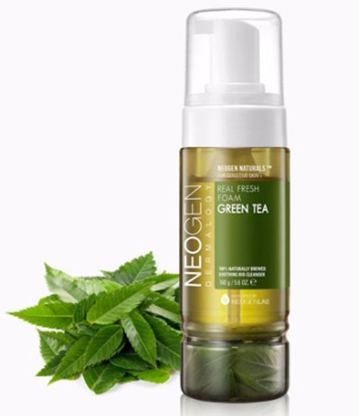 Neogen Green Tea Real Fresh Foam Cleanser [160 gm]