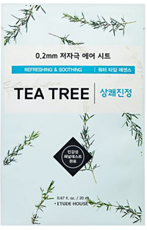 [Etude House] 0.2mm Tea Tree Therapy Air Sheet Mask