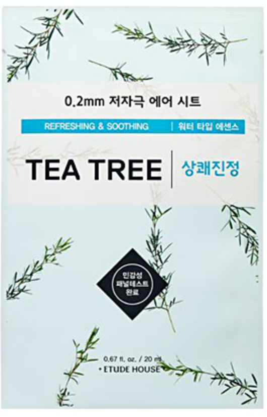 0.2 Tea Tree Therapy Air Sheet Mask [Etude House]