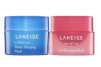 Laneige Good Night Sleeping Care Kit (Water Sleeping Mask 15ml + Lip 3g)