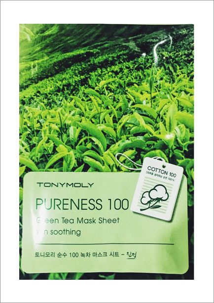 Green Tea Sheet Mask - Tonymoly