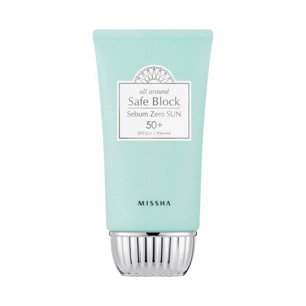 [Missha] All Around Safe Block Sebum Zero Sun SPF 50+/ PA+++