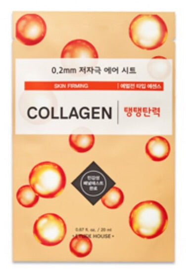[Etude House] 0.2mm Collagen Therapy Air Sheet Mask