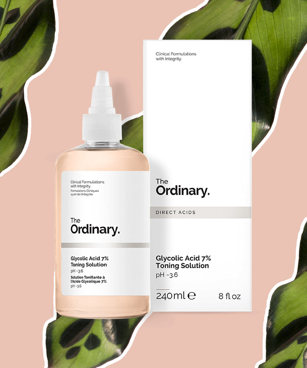 [The Ordinary - Deciem] Glycolic Acid 7% Toning Solution - 240 ml