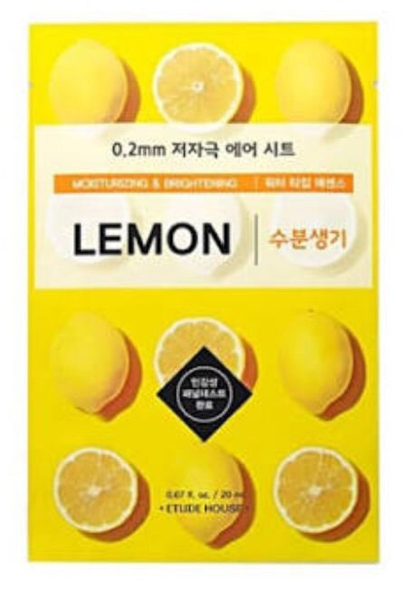 [Etude House] 0.2mm Lemon Therapy Air Sheet Mask